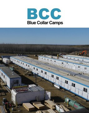 Blue Collar Camps modular installation