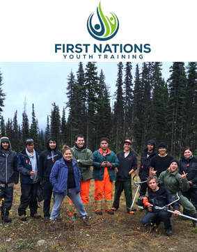 First Nations Youth Training Program class
